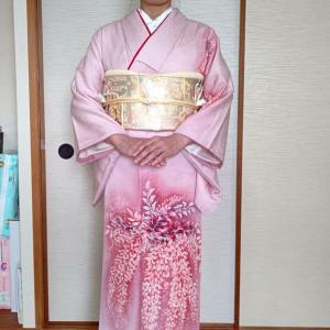 令和3年5月25日出張着付は富田林市、お宮参りの訪問着の着付&ヘアセットのご依頼でした。