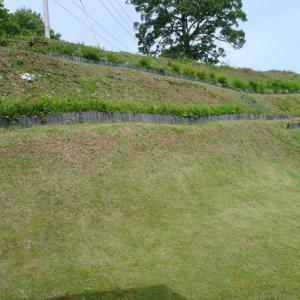急斜面の草刈りなど