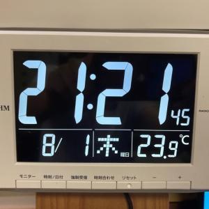 見やすいデジタル時計