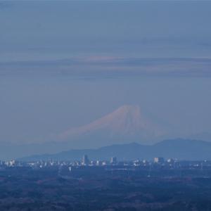 強風後の富士山