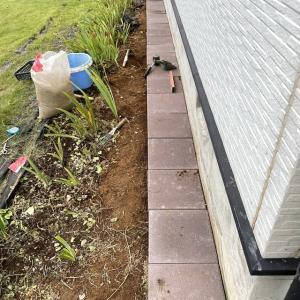 石敷きガーデニング