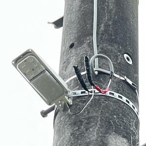 LED防犯灯電源接続