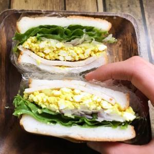 米パンサンドイッチ試作