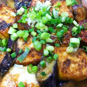 水切り豆腐を使って照り焼き風