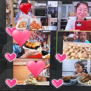 【子どもお料理教室】クリームパスタ、クッキー&ドーナツレッスンでした♫