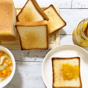 トースト専用米粉一斤パン合格しました♫