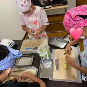 子どもお料理教室 初めてのパッククッキング♫