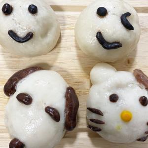 11月の子供お料理教室は米粉の肉まんを作ります♫