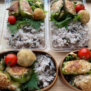 3日間ファスティング挑戦しつつ✨今週の弁当テーマはひき肉⭐️