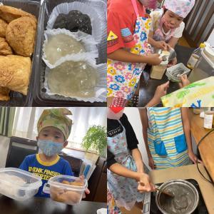【子どもお料理教室】五感を使ってわらび餅作り♫