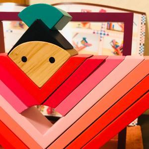 【木の知育玩具】子どもが自由に触って遊べるお雛様