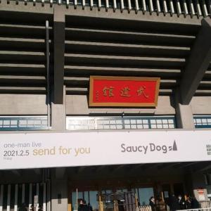 2021.2.6 Saucy Dog リベンジエピソード@日本武道館