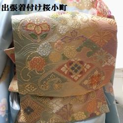 お宮参りのお客様、爽やかなブルーの訪問着が素敵でした(*^^*)