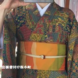 30年以上前の着物ですが、年を重ねた今でも好きです(*^^*)♡♡