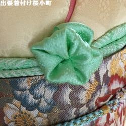 とても気持ちよい春日和の、振袖のお客様(*^^*)