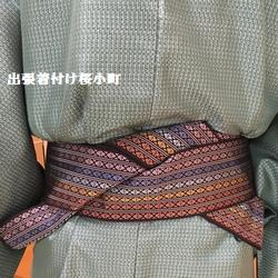 紬の着物、リピーターの男性のお客様(*^^*)