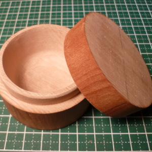 桜材で小物入れの製作 P2