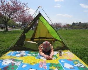 お花見DAYキャンプ