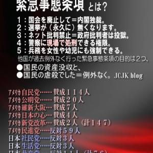安倍晋三が「統一教会」イベントでトランプと共演! 前総理としてカルトの総裁を絶賛、同性婚や夫婦別