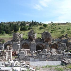 トルコ  エフェソスの古代遺跡