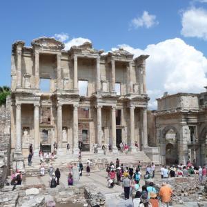 トルコ  エフェソスの古代遺跡 2