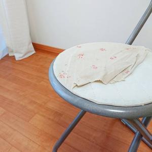 パイプ椅子のリメイク♪