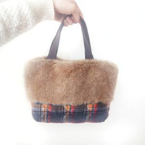 冬もこもこファーバッグ