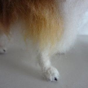 ●羊毛フェルト 植毛ストレートは良い感じ!