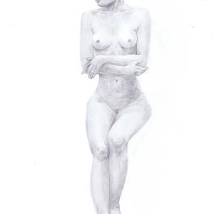 デッサン活動記録2016年11月13日(日)たのしい人物画 モデルバンビ