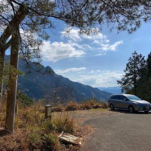 南奥駈道の大森山と大平多山から甲森まで