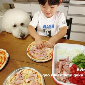 ピザからの〜BBQ