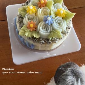 りっくんのお誕生日ケーキ便