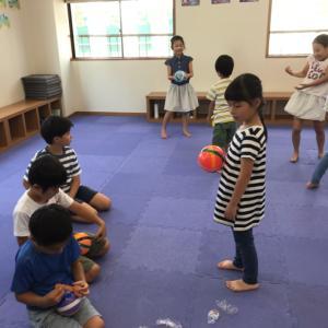 夏休み!わいわい小学生リトミック 卒業生もきたよ。