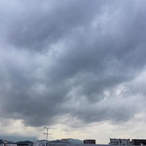 嵐が来る模様