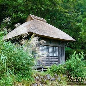 阿弥陀堂は今もひっそりとそこに建っていた。
