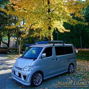 【秋の車中泊旅】恵那の岩村城に行く。