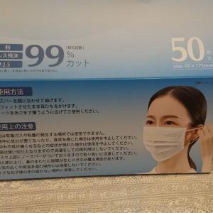 夏用マスク買いました