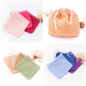 レース編みの巾着袋