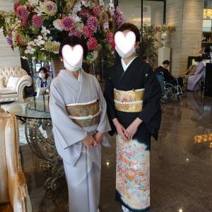従姉のお嬢様の結婚式