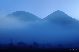 津和野紀行 霧の朝