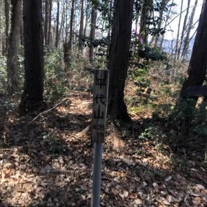 天王山ハイキングコースで行く津久井堂所山2