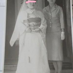 義母の花嫁姿