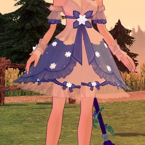 【マビノギ】雪結晶ドレス