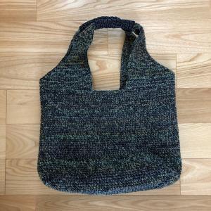 [完成]エコアンダリヤで編むトートバッグ