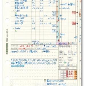 """システム手帳の""""システム""""その10/ ライフLOGはアナログRDB・その3"""