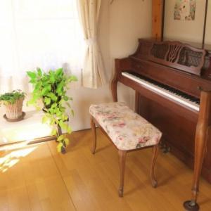 ピアノがやりたいって言ってくれて嬉しかった!