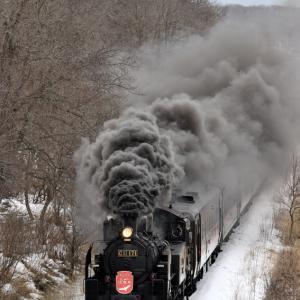 SL冬の湿原号(2020/2/16上り速報版)
