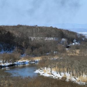 SL冬の湿原号(2021/1/23・24上り仮監峠踏切)