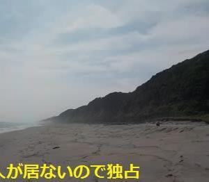 遠州灘を裸で走るおじさん 心はスティービーワンダー