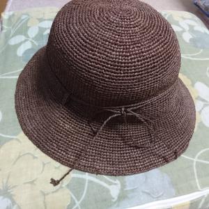 生徒さんの素敵な帽子